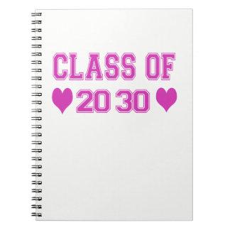 Classe do caderno 2030
