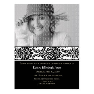 Classe do cartão 2012 do convite da graduação