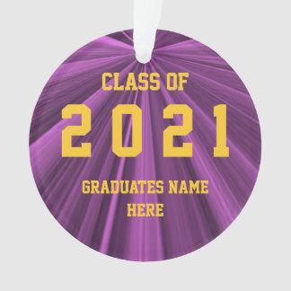 Classe do marrom 2021 e do ornamento do ouro por