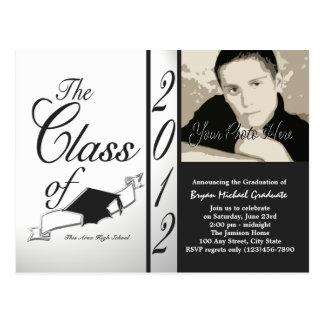Classe do preto 2012 do convite da foto