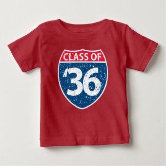 Classe do t-shirt 2036 do bebê camiseta para bebê