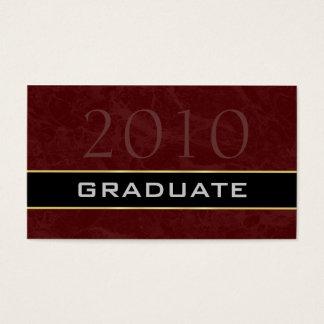 Classe dos cartões 2010 conhecidos dos formandos
