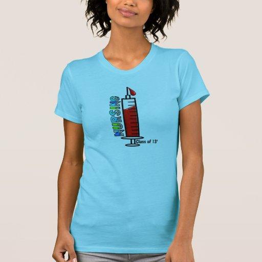 Classe dos cuidados da seringa 2013 camiseta