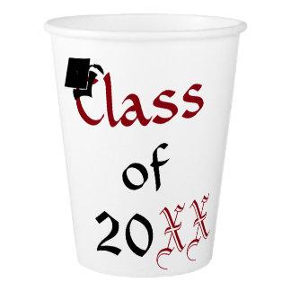 Classe feita sob encomenda de copos da graduação