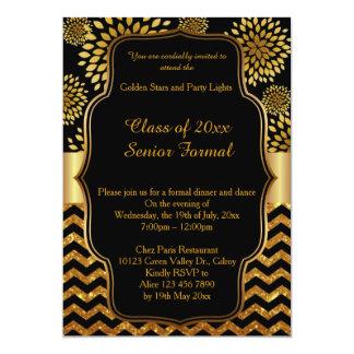 Classe formal superior 2017 do baile de formatura convite 12.7 x 17.78cm