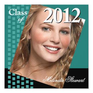 Classe fresca corajosa de partido da foto de 2012 convites