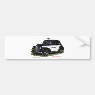 Classic_1940_Chevrolet_Police_Texturized Adesivo Para Carro