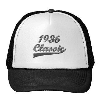 Clássico 1936 boné