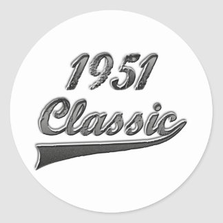 Clássico 1951 adesivo