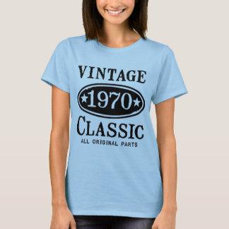 Clássico 1970 do vintage camiseta