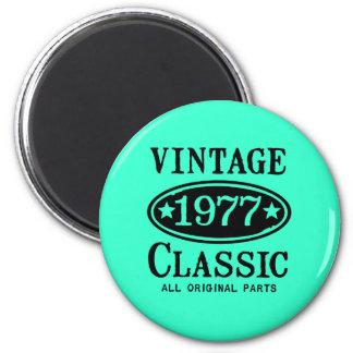 Clássico 1977 do vintage imas