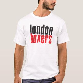 Clássico da camisa dos pugilistas T de Londres
