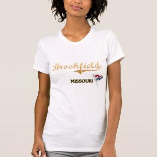 Clássico da cidade de Brookfield Missouri T-shirts