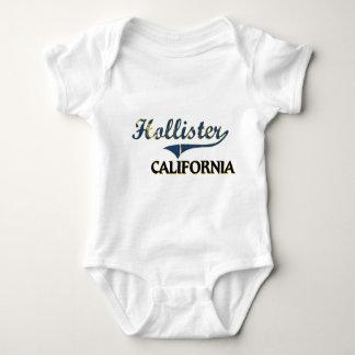 Clássico da cidade de Hollister Califórnia Body Para Bebê