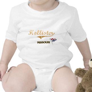 Clássico da cidade de Hollister Missouri Macacãozinho Para Bebê