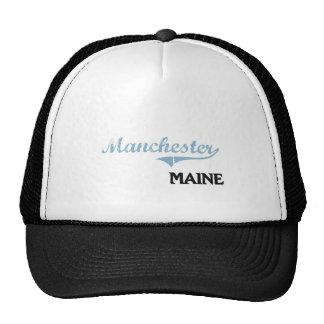 Clássico da cidade de Manchester Maine Boné