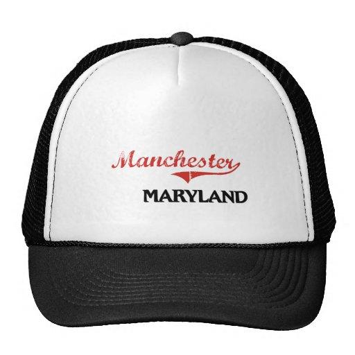 Clássico da cidade de Manchester Maryland Boné