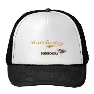 Clássico da cidade de Manchester Missouri Boné