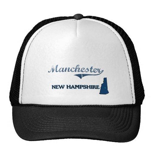 Clássico da cidade de Manchester New Hampshire Bonés