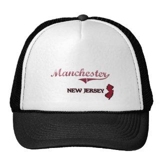 Clássico da cidade de Manchester New-jersey Boné