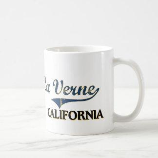 Clássico da cidade de Verne Califórnia do La Caneca