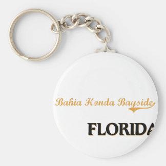 Clássico de Baía Honda Bayside Florida Chaveiros