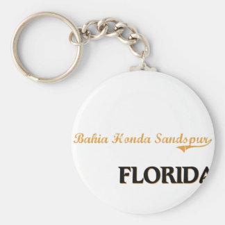 Clássico de Baía Honda Sandspur Florida Chaveiro