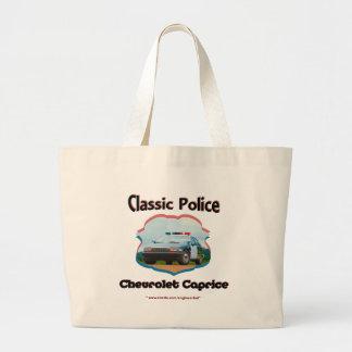 Clássico de Chevrolet Caprice do carro de polícia Bolsa