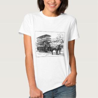 Clássico do autocarro de dois andares t-shirt