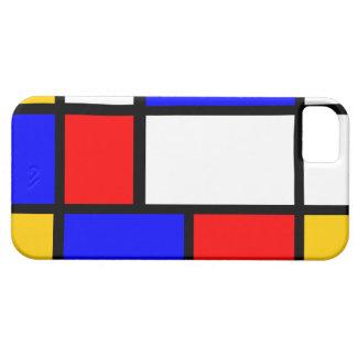 Clássico Mondrian Capa Para iPhone 5