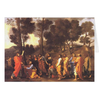 Classificação de Nicolas Poussin- Cartão Comemorativo