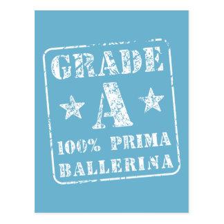 Classifique uma bailarina de Prima Cartão Postal