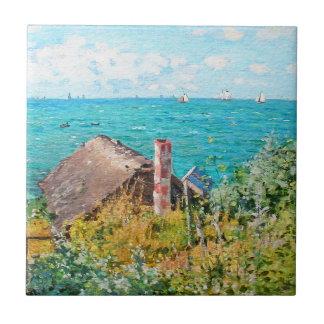 Claude Monet a cabine em belas artes do