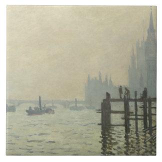 Claude Monet - a Tamisa em Westminster