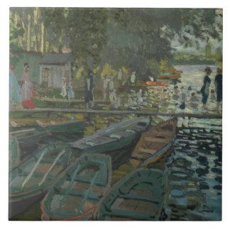 Claude Monet - Bathers no La Grenouillere