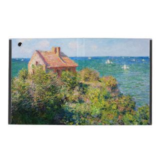 Claude Monet: Casa de campo de Fishermans em Capa iPad
