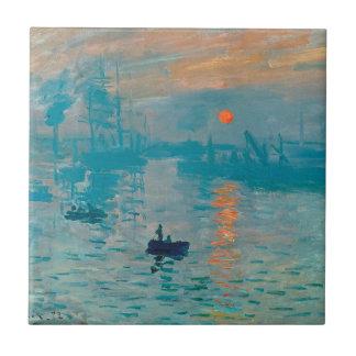 CLAUDE MONET - impressão, nascer do sol 1872