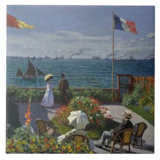 Claude Monet - jardim em Sainte-Adresse