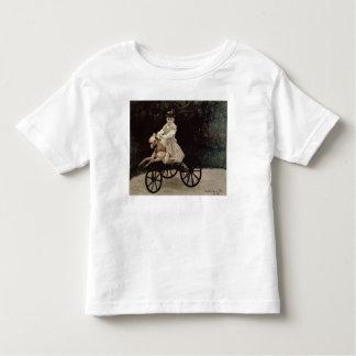 Claude Monet | Jean Monet em seu cavalo do Camiseta Infantil