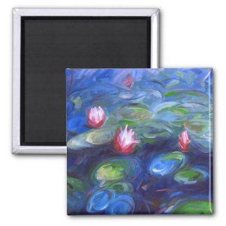 Claude Monet Lírios de água 2 Ima De Geladeira