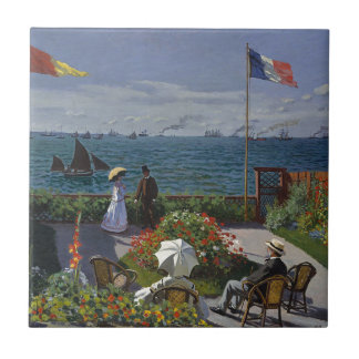 Claude Monet - o jardim na arte de Sainte Adresse