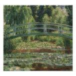 Claude Monet - o passadiço japonês Foto Arte