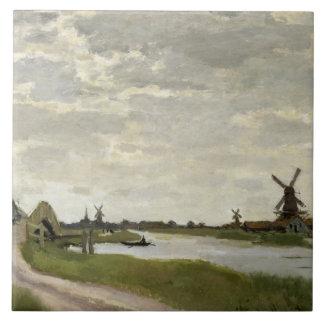 Claude Monet - os moinhos de vento aproximam