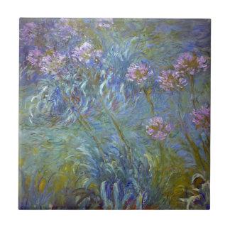 Claude Monet - pintura clássica das flores do