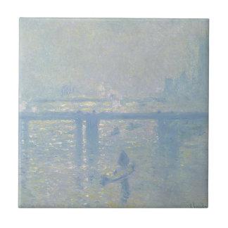 Claude Monet - ponte transversal de Charing. Arte