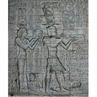 Cleopatra e Caesarion Foto Esculturas