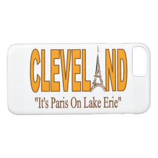 Cleveland, é Paris na capa de telefone do Lago