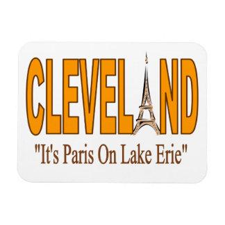 Cleveland, é Paris no ímã do Lago Erie