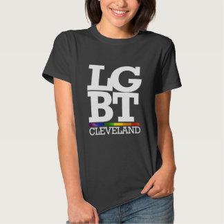CLEVELAND LGBT -- .png T-shirts