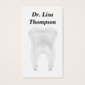 Clínica privada dental do doutor Médico do Cartão De Visitas
